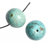 Turquoise Green 18x13mm Round